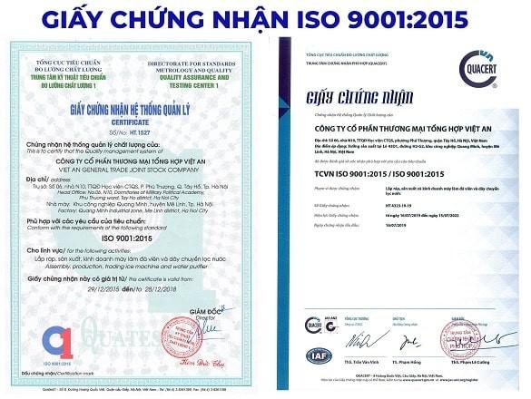 Tiêu chuẩn ISO 9001:2015