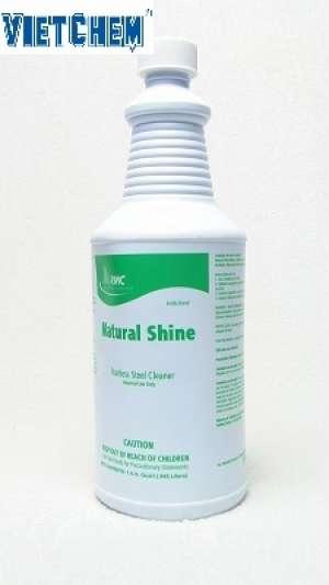 Chất vệ sinh thiết bị Inox RMC Natural Shine chai 500g