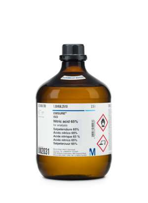 Nitric acid 65% for analysis EMSURE® Reag. Ph Eur,ISO- 1000ml
