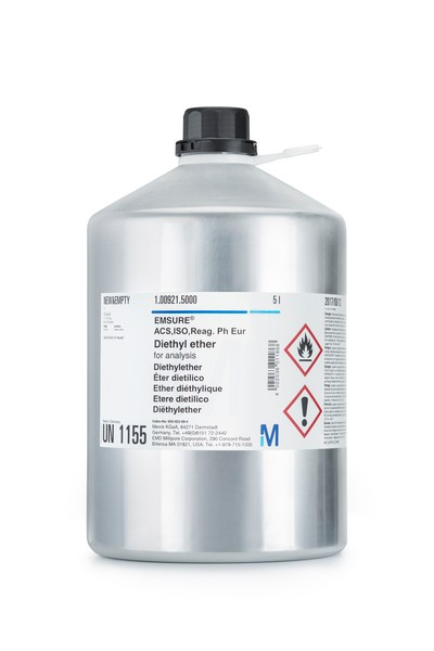 Diethyl ether for analysis EMSURE® ACS,ISO,Reag. Ph Eur-1000ml