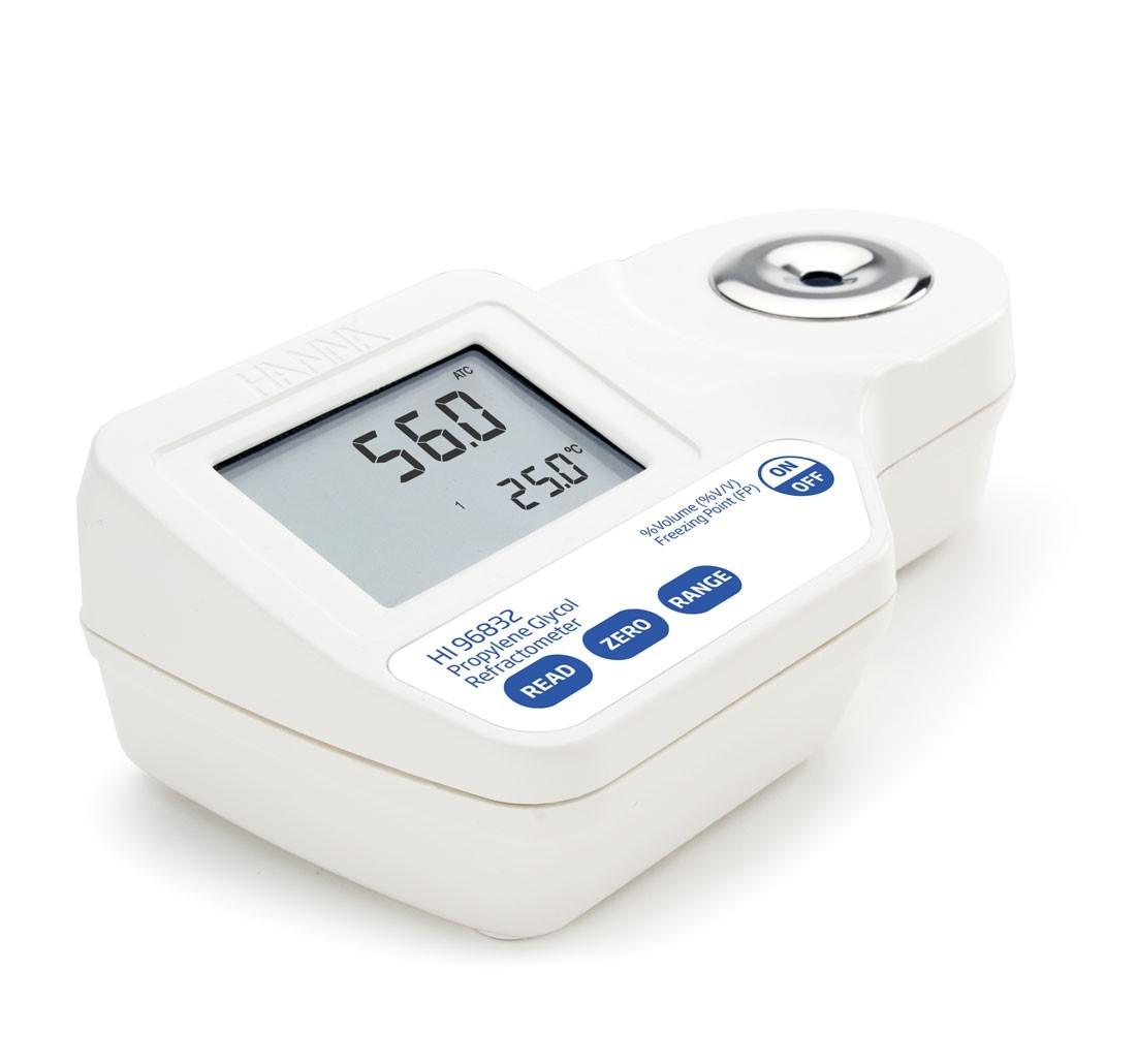 Khúc xạ kế đo Propylene Glycol HI96832 Hanna