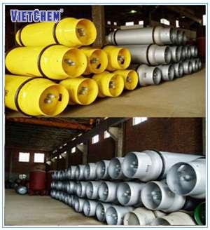 Bình thép chứa khí Clo lỏng các loại