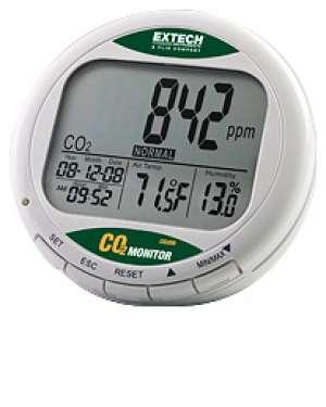MÁY ĐO LƯỢNG KHÍ CO2, NHIỆT ĐỘ, ĐỘ ẨM - CO200