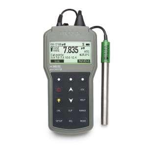 Máy đo pH/ORP/ISE/Nhiệt độ chống thấm nước HI98191 Hanna