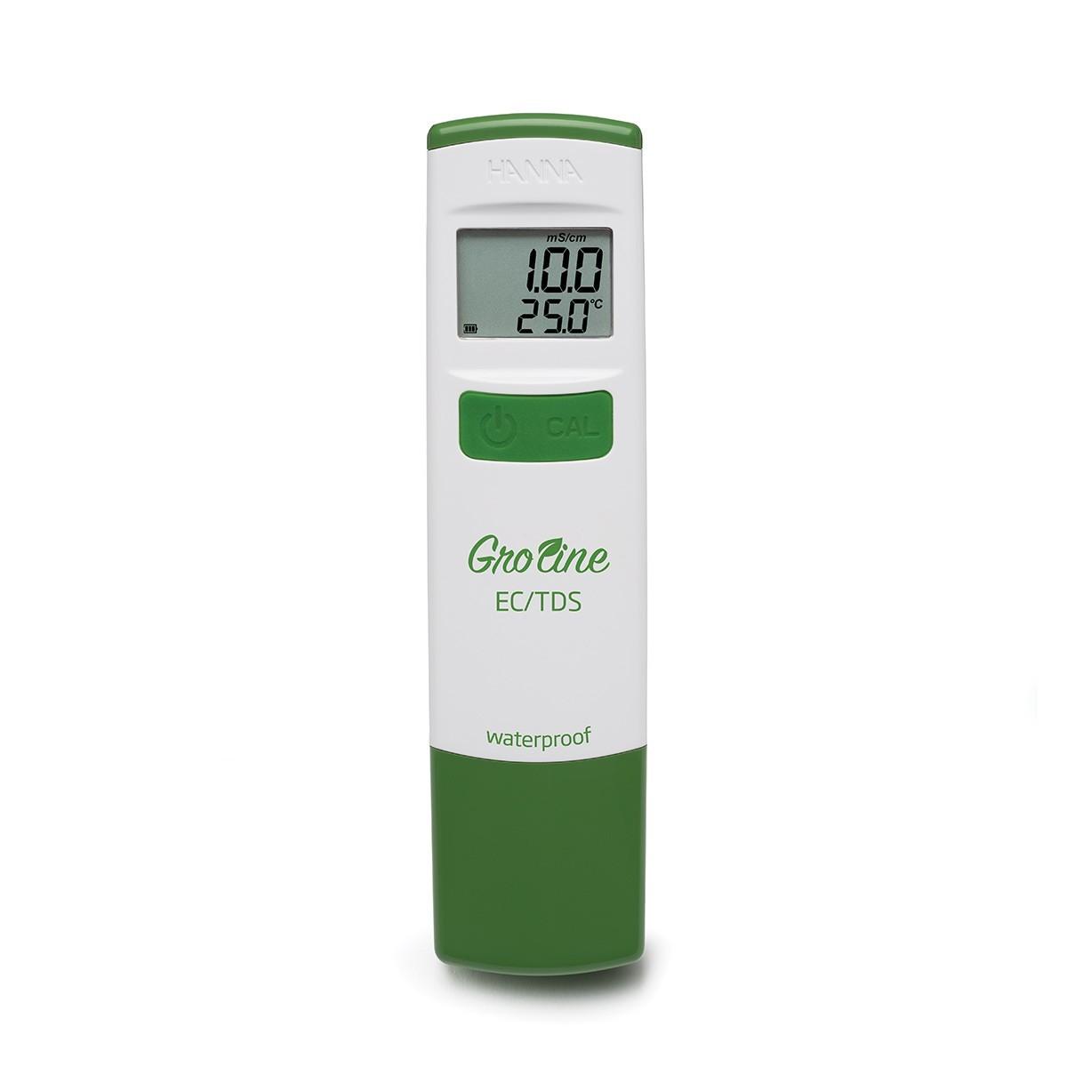 Bút đo EC/TDS/Nhiệt độ (ppm) chống thấm nước trong thủy canh HI98318 Hanna