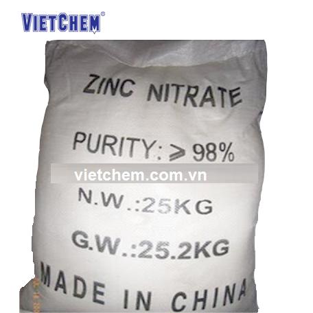 Kẽm nitrat Zn(NO3)2.6H2O 98%