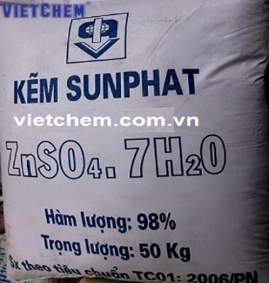 Kẽm sunphat ZnSO4.7H2O 98%