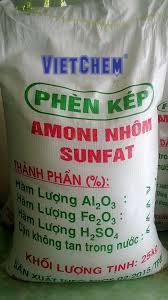 Amoni nhôm Sulfat NH4Al(SO4)2 Việt Nam