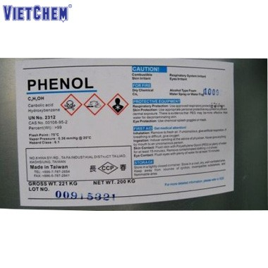 Phenol C6H5OH 99,8% Đài Loan