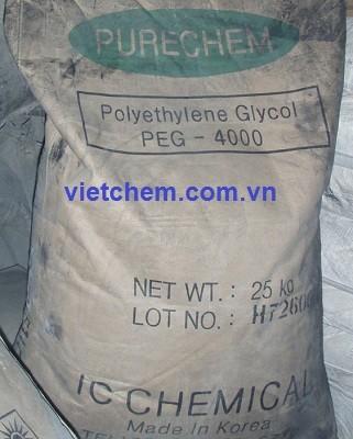 Polyethylene glycol H-(O-CH2-CH2)n-OH (PEG 4000) Hàn Quốc