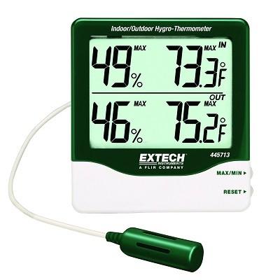 Máy đo nhiệt độ, độ ẩm 445703 Extech
