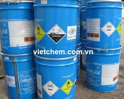 Axit cromic CrO3 99,8% Trung Quốc
