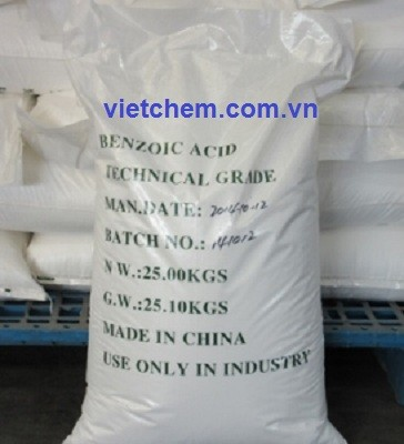 Axit Benzoic C6H5COOH 98%
