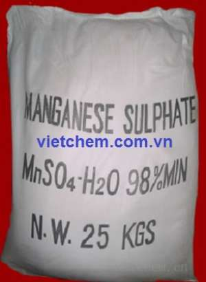 Mangan Sunphat MnSO4.H2O 98% Trung Quốc