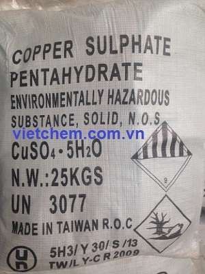 Đồng sunphat CuSO4.5H2O 99%