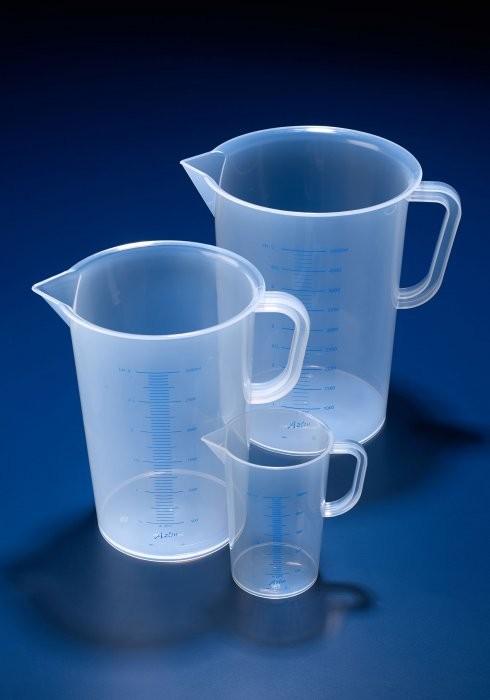 Ca nhựa có chia vạch PP 3000ml AZLON, Scilabware-Anh