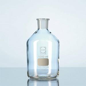 Chai thủy tinh trắng cổ mài MH, có nắp 250ml Schott- Đức