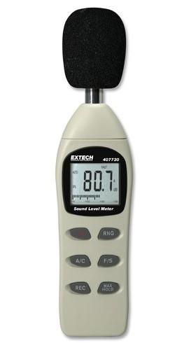 Máy đo âm thanh 407730 Extech