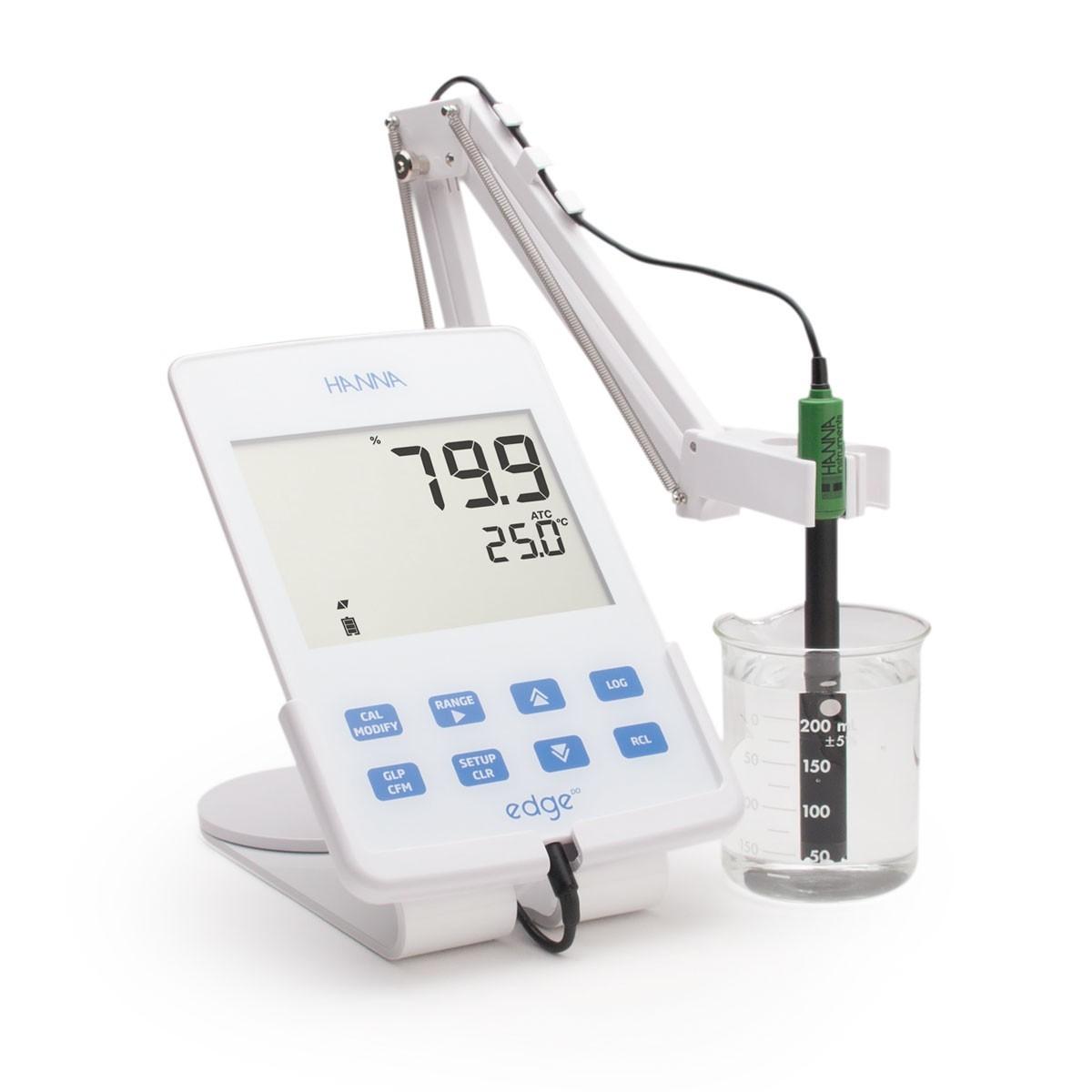 edge® đơn chỉ tiêu - Máy đo oxy hoà tan HI2004 EDGE Hanna