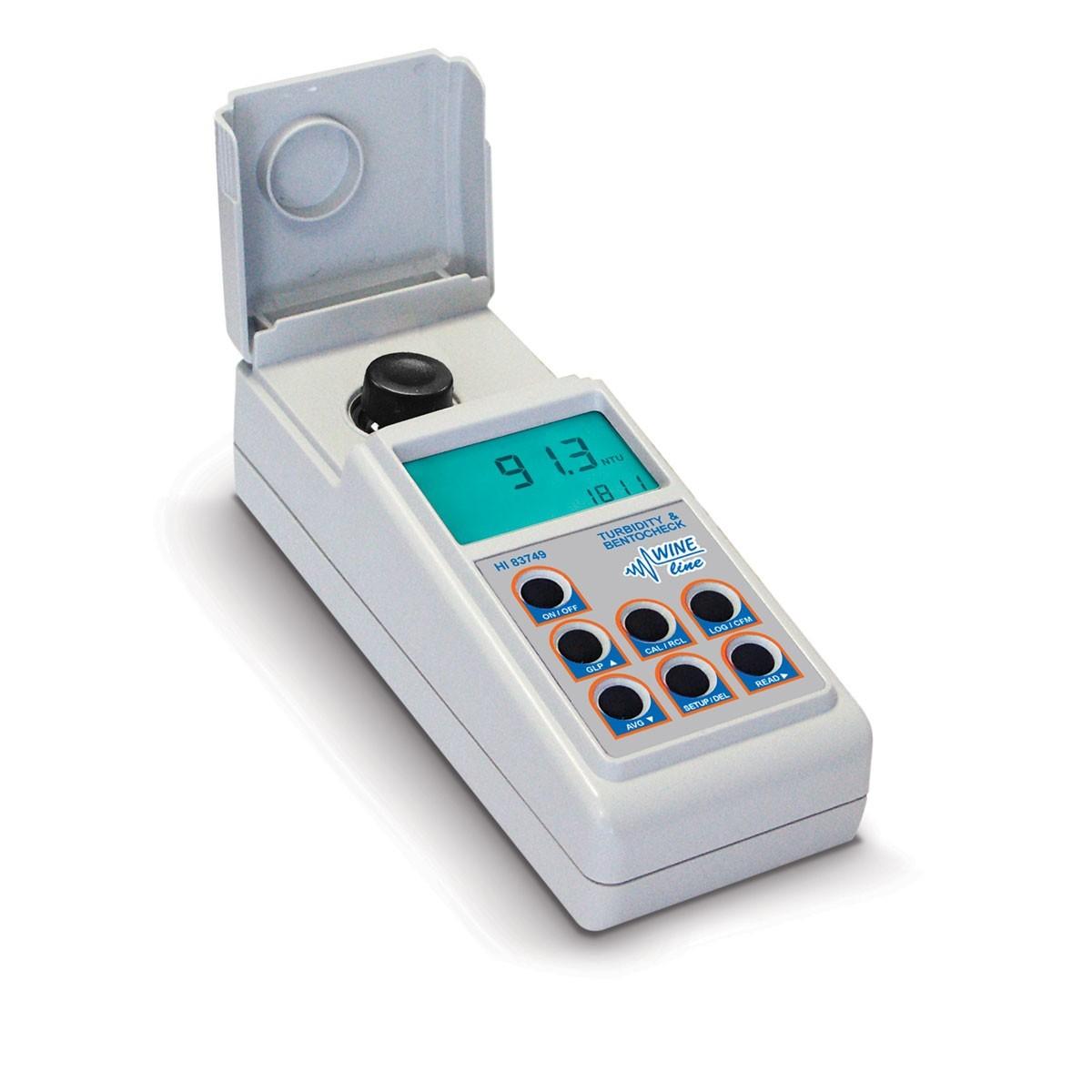 Máy đo độ đục và Bentonit trong rượu HI83749 Hanna