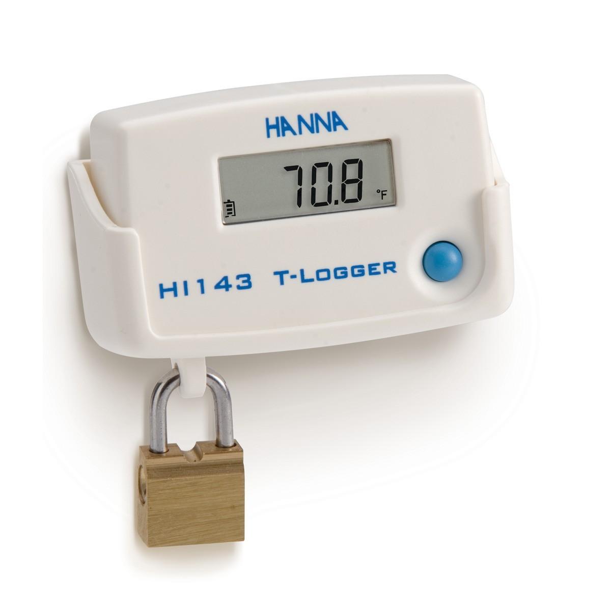 Máy đo nhiệt độ treo tường có khóa HI143-10 Hanna