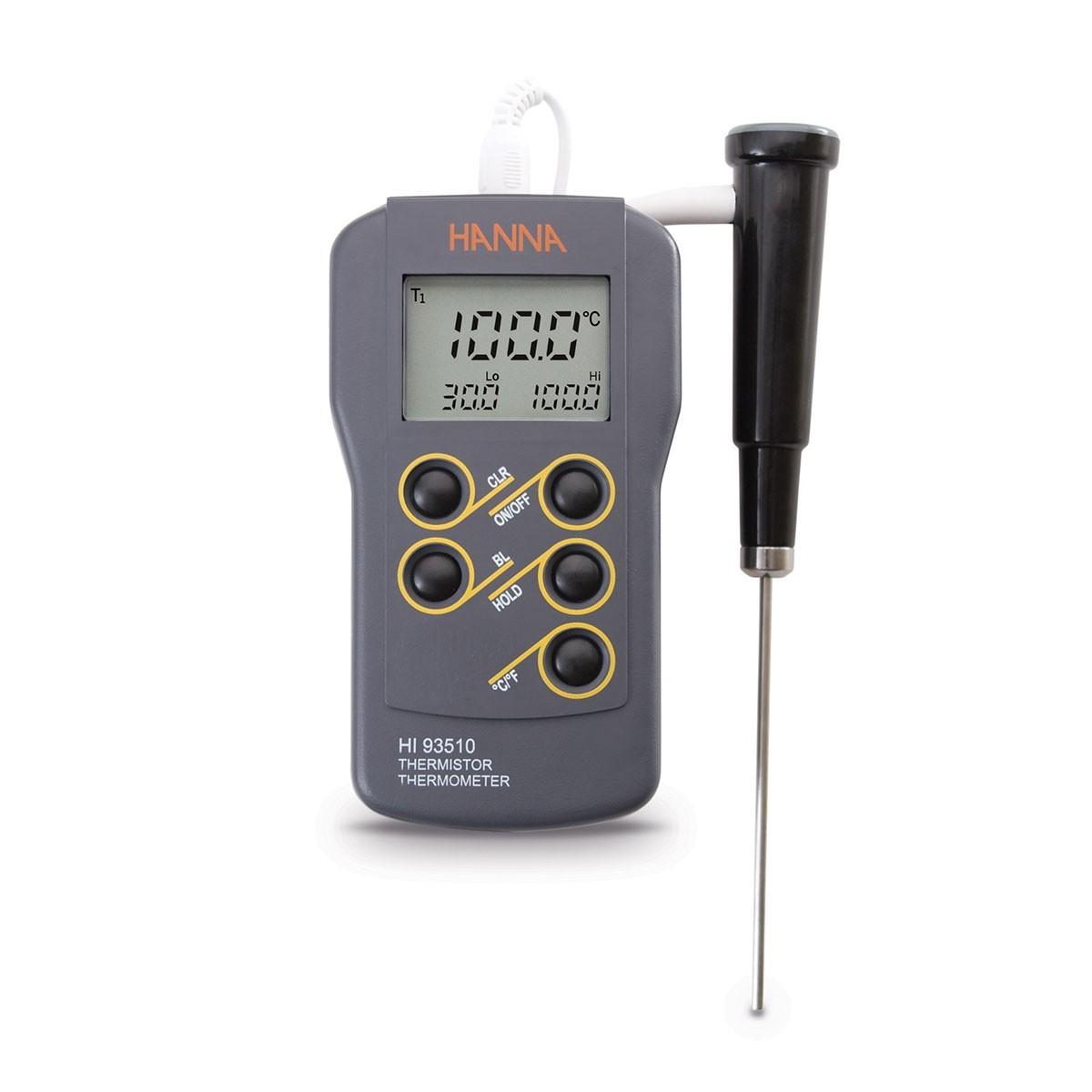 Máy đo nhiệt độ chống thấm nước HI93510 Hanna