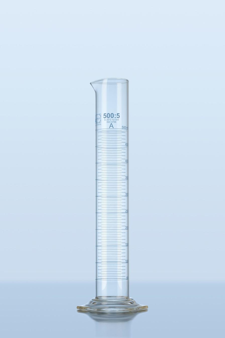 Ống đong thủy tinh 5ml, lớp A Duran