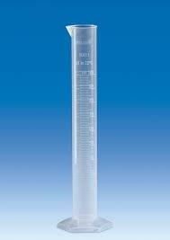Ống đong nhựa PP 1000ml - vitlab - Đức