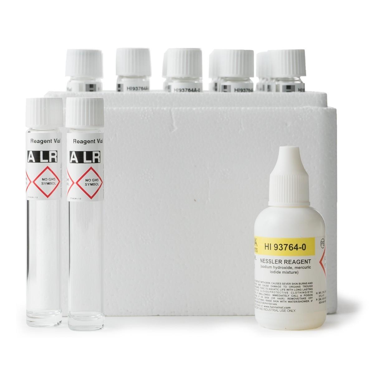 Thuốc thử Amoni thang thấp 0.00 - 3.00 mg/L (25 ống) Hanna