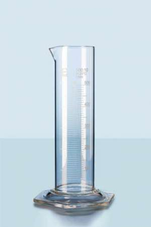 Ống đong thủy tinh thấp thành 50ml Duran