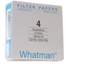 Giấy lọc định tính 4, nhanh 20-25um, 270mm Whatman