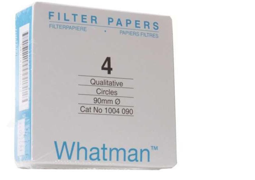 Giấy lọc định tính 4, nhanh 20-25um, 240mm Whatman