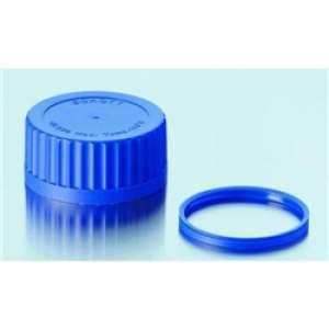 Nắp vặn xanh dương chai trung tính GLS 80 Duran