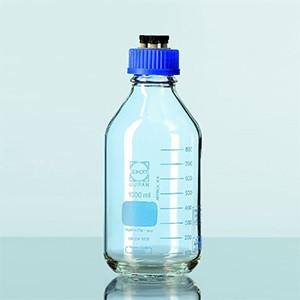 Chai trung tính HPLC GL45 PP với 4 cổng, 500 ml Duran