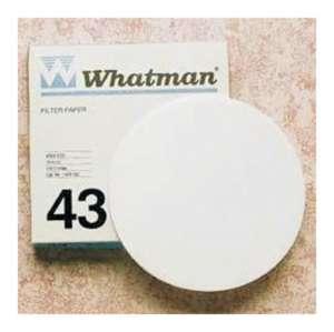 Giấy lọc định lượng 43, nhanh 16um, 90mm Whatman