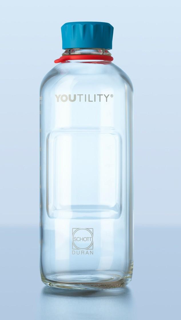 Chai trung tính GL 45, Youtility, 1000ml, ko vòng cổ Duran