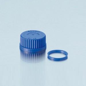 Nắp vặn xanh dương chai trung tính GL25 Duran