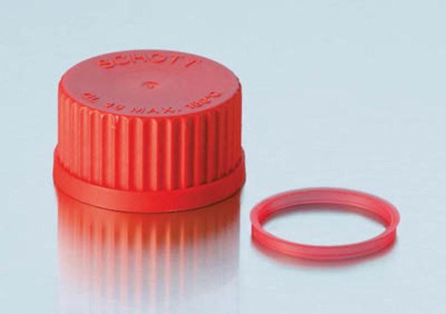 Nắp nhựa đỏ GL18 Duran.