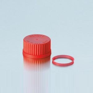 Vòng đệm đỏ  ETFE cho  chai trung tính GL45 Duran