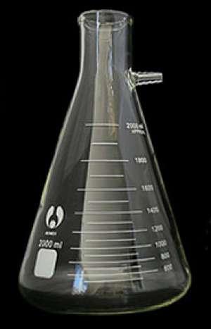Bình tam giác có vòi, kẻ vạch 125ml Genlab