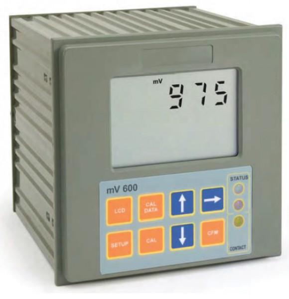 Bộ điều khiển ORP 1 điểm cài đặt, kiểm soát on/off, đầu ra analog MV600111 Hanna