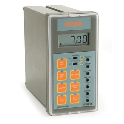 Bộ kiểm soát pH 2 điểm - ngõ ra analog 4 - 20mA HI8711 Hanna