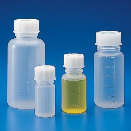 Chai nhựa đựng mẫu PE MH,  250ml, không nắp, CV 50ml