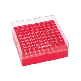 Hộp nhựa trữ Cryo vial (100 chỗ) cho tuýp 1.2 -2ml Wheaton