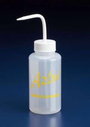 Bình tia nhựa 500ml, có thể hấp tiệt trùng được, Azlon