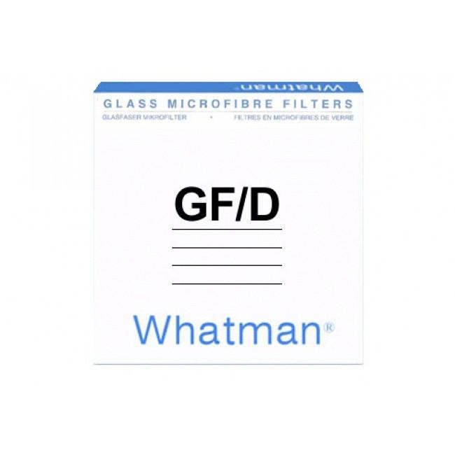 Màng lọc sợi thủy tinh GF/D 2.7um, 70mm Whatman