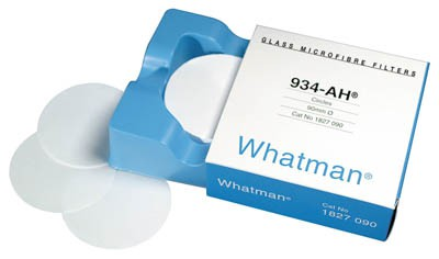 Màng lọc sợi thủy tinh 934AH 1.5um, 105mm Whatman