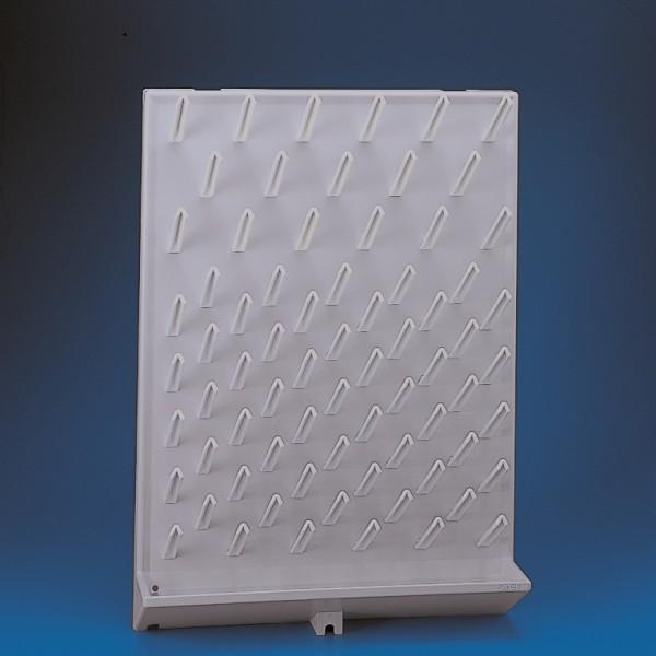 Giá phơi dụng cụ bằng nhựa 450x630x110mm, 72 chỗKartel
