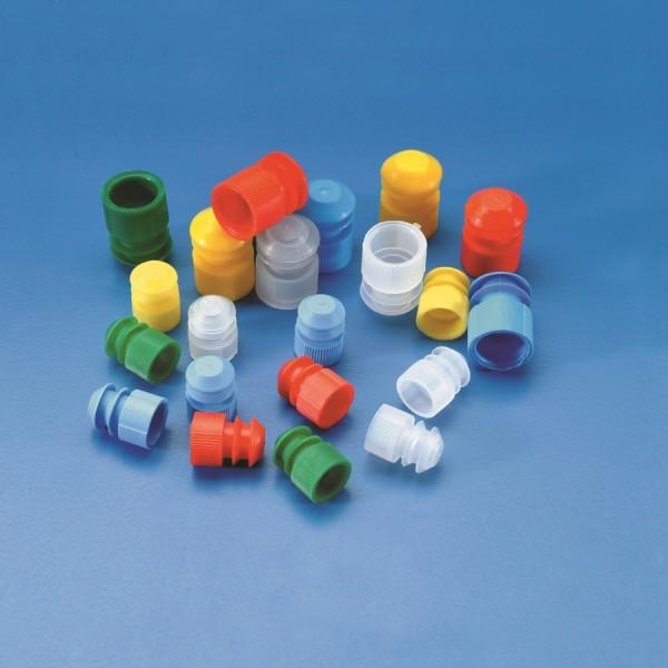 Nắp Ống nghiệm nhựa 12x75trắng (1000c/gói)
