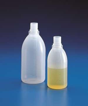 Chai nhựa đựng mẫu PE MH, 1000ml, không nắp, CV 100ml